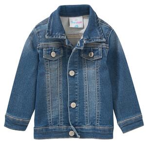 Baby Jeansjacke mit leichter Used-Waschung