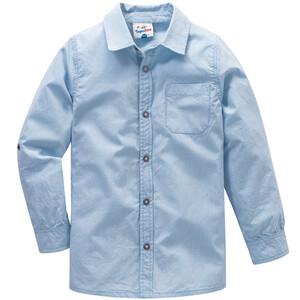 Jungen Hemd im kleinkarierten Dessin