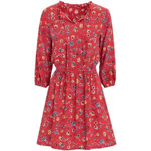 Damen Kleid mit floralem Allover-Print