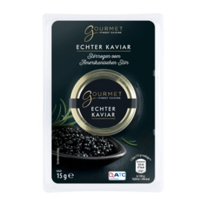 GOURMET     Echter Kaviar vom Stör