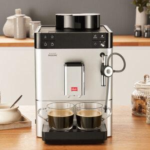 Melitta Kaffeevollautomat Caffeo Passione F 53/0-101, mit Auto-Cappuccinatore, silber