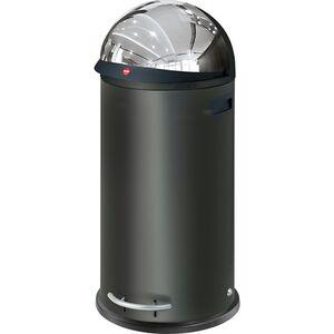 Hailo KickVisier XL Großraum-Abfallboxen, schwarz