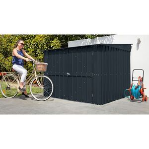 Globel Metall-Fahrradbox Fahrradoase Family