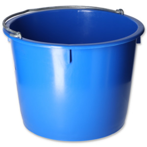 Baueimer 20 l blau