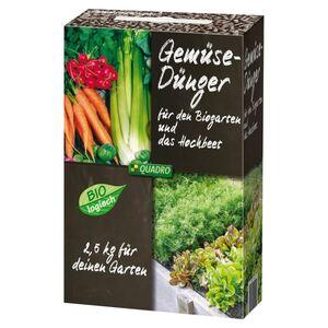 Gemüsedünger für den Biogarten und das Hochbeet 2,5kg