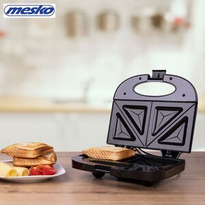 Mesko Sandwichmaker MS 3032 Schwarz
