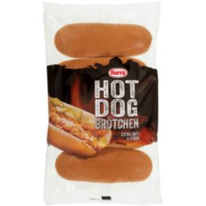 Harry Hot Dog oder Burger Brötchen