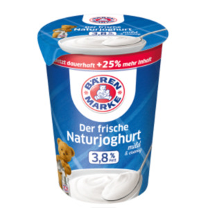 Bärenmarke Der frische Naturjoghurt