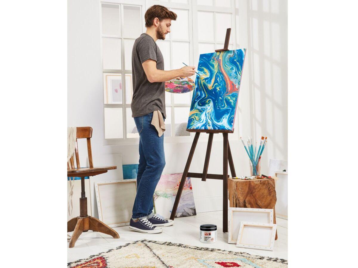 Bild 5 von CRELANDO® Leinwand Set, 5-teilig, aus Baumwollgewebe, mit Holzrahmen