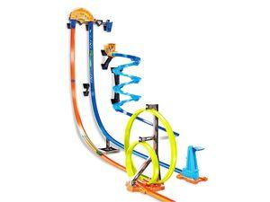 Hot Wheels Senkrechtstarter Stunt-Set »Track Builder«, Autospielset, ab 6 Jahren