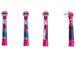 Oral-B Aufsteckbürsten »Frozen«, 4 Stück, für Zahnbürsten von Oral-B, ab 3 Jahren