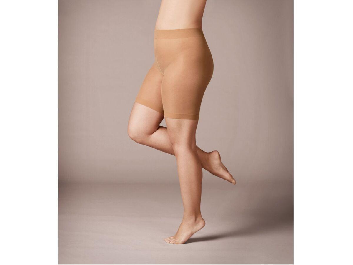 Bild 5 von ESMARA® Strumpf-Panty Damen, 3 Stück, Plus Size, mit Elasthan