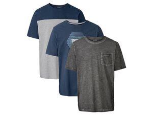 LIVERGY® T-Shirt Herren, mit Baumwolle