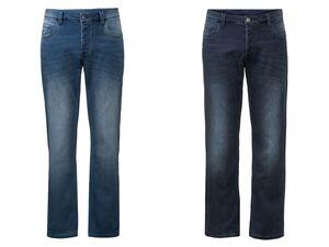 LIVERGY® Sweathose Herren, in Jeans-Optik, 5-Pocket-Style. mit Baumwolle und Elasthan