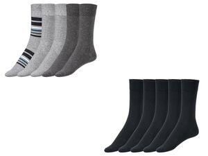 LIVERGY®  Socken Herren, 5 Paar, mit Bio-Baumwolle