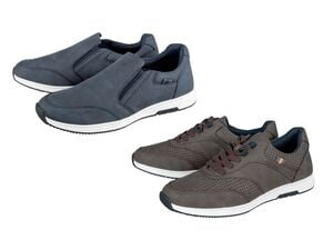 LIVERGY® Sneaker Herren, mit herausnehmbarer Decksohle, TPR-Laufsohle