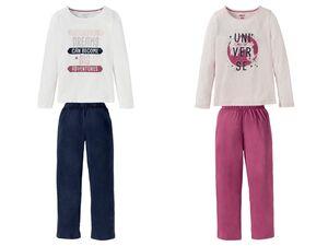 PEPPERTS® Pyjama Mädchen, biologisch, aus reiner Bio-Baumwolle