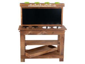 PLAYTIVE® Holzspielküche, inklusive Zubehör, ab 3 Jahren, aus Echtholz