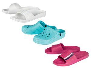ESMARA® Pantoletten Damen, mit anatomisch geformtem Fußbett, abwaschbar