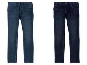 LIVERGY® Jeans Herren, schmal geschnitten, hoher Baumwollanteil, mit Elasthan