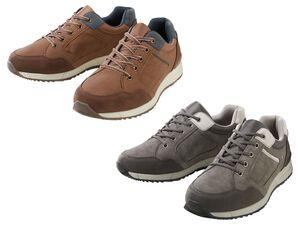 Footflexx  Sneaker Herren, G-Weite, mit Lederdecksohle, TPR-Laufsohle