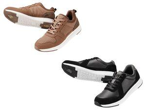 LIVERGY® Sneaker Herren, mit Ventilationsöffnung, Spezial-Perforierung, atmungsaktiv