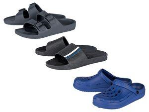 LIVERGY® Pantoletten Herren, mit anatomisch geformtem Fußbett, abwaschbar