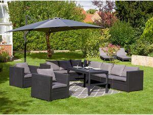 Keter Lounge Set Provence Premium anthrazit