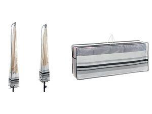 FLORABEST Schutzhülle, für Sonnenschirm oder Gartenstühle, witterungs- und UV-beständig