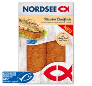 NORDSEE Pikanter Backfisch