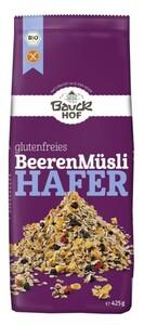 Bauckhof Bio Glutenfreies Hafer Beeren Müsli 425 g