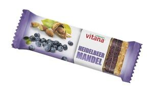 LIEBHART´S vitana Bio Heidelbeer-Mandel-Fruchtschnitte 60 g