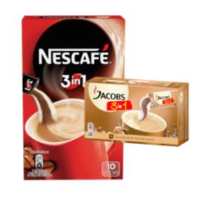 Jacobs oder Nescafé 2in1 oder 3in1