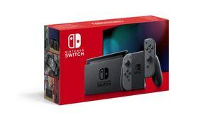 Nintendo Switch - Konsole Grau (neue Edition)