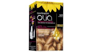 GARNIER Olia dauerhafte Haarfarbe Nr. 8.31 Honigblond