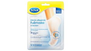Scholl Expert Care Intensiv pflegende Fußmaske in Socken
