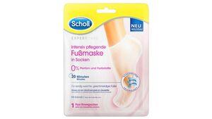 Scholl ExpertCare Intensiv pflegende Fußmaske 0% Parfüm und Farbstoffe