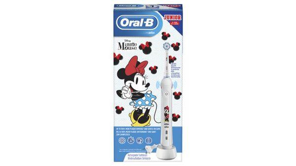 Oral-B Junior Minnie Mouse Elektrische Zahnbürste