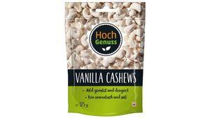 Hochgenuss Vanilla Cashews
