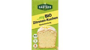 NICOL GÄRTNER myBIO Kuchenbackmischung Zitronen-Kuchen