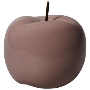 Dekofrucht Apfel I aus Keramik in Flieder
