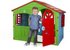 Spielhaus - House of Fun - grün/blau/rot