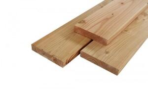 Massivholzdiele Douglasie 2000 x 190 x 35 mm, 4-seitig gehobelt