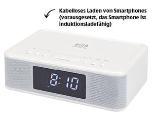 BAUHN®  audio Radiowecker mit QI Ladung