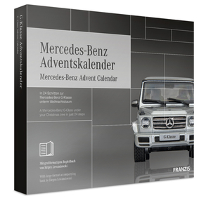 Mercedes Benz Adventskalender Franzis-Verlag