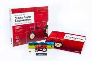 Porsche Oldtimer Traktor Adventskalender  Franzis-Verlag