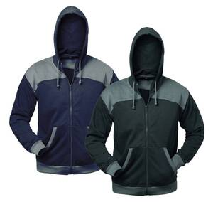 Sweatshirtjacke mit Kapuze, verschiedene Farben elysee