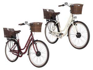 FISCHER E-Bike Retro »ER1804«, 28 Zoll, 80 km Reichweite, mit Rücktrittbremse