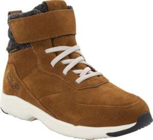 Sneakers High gefüttert CITY BUG TEXAPORE MID  braun/weiß Gr. 35 Jungen Kinder