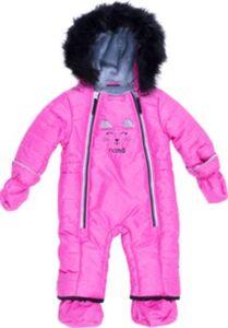 Schneeanzug  fuchsia Gr. 68 Mädchen Baby